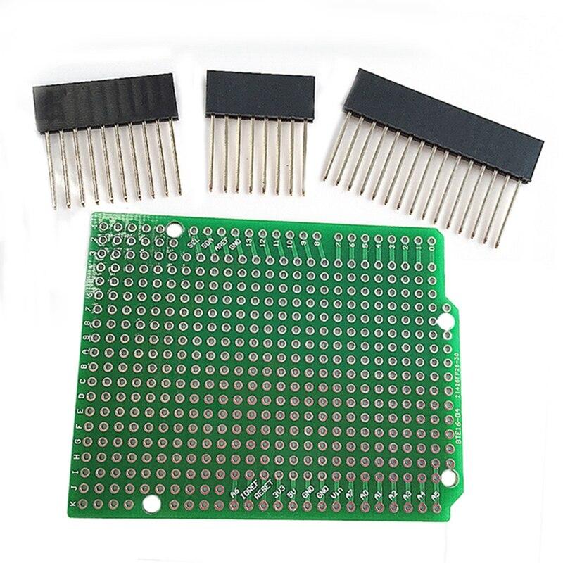 100% QualitäT Prototyp Pcb Bte16-04 Für Arduinouno R3 Schild Bord Diy Clear-Cut-Textur