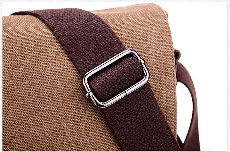 HTB1LGH ayYrK1Rjy0Fdq6ACvVXaV 2019 Vintage Men's Briefcase Canvas Men Messenger bag Classic Designer Shoulder Bags Pocket Casual Business Laptop Travel bags