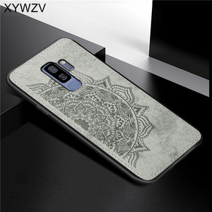 Image 4 - For Samsung Galaxy S9 Plus Case Soft TPU Silicone Cloth Texture Hard PC Phone Case For Samsung S9 Plus Cover For Galaxy S9 Plus