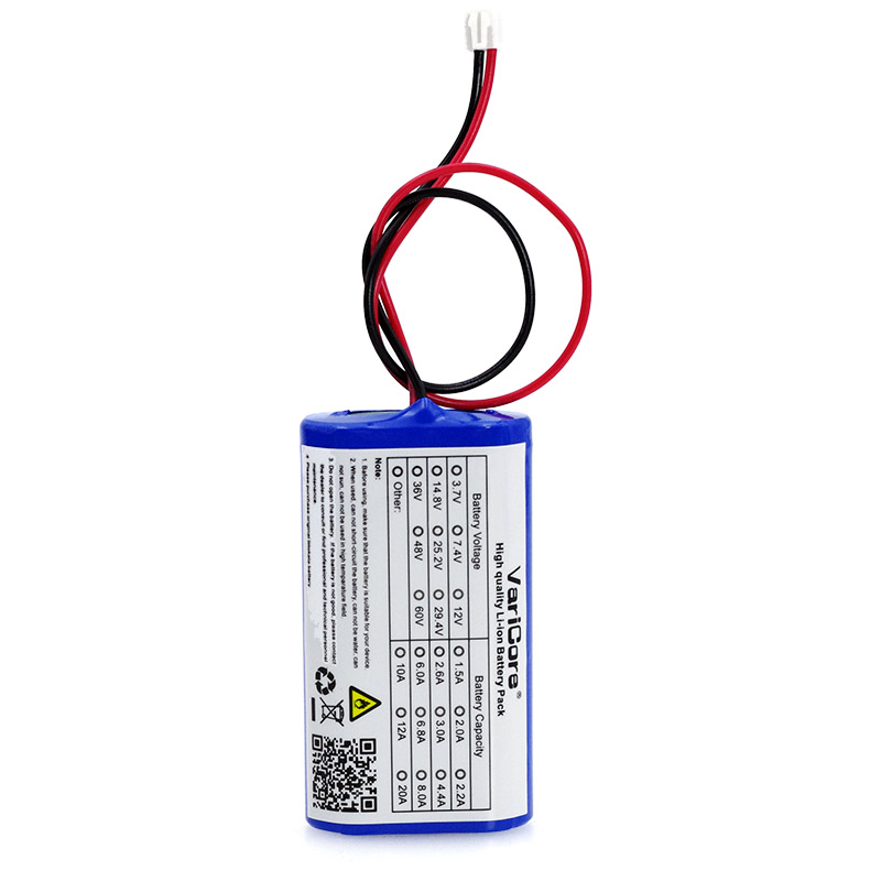 VariCore 7,2 V/7,4 V/8,4 V 18650 lithium-batterie 2200 mA akku megaphon lautsprecher schutz bord batterie 2.2A