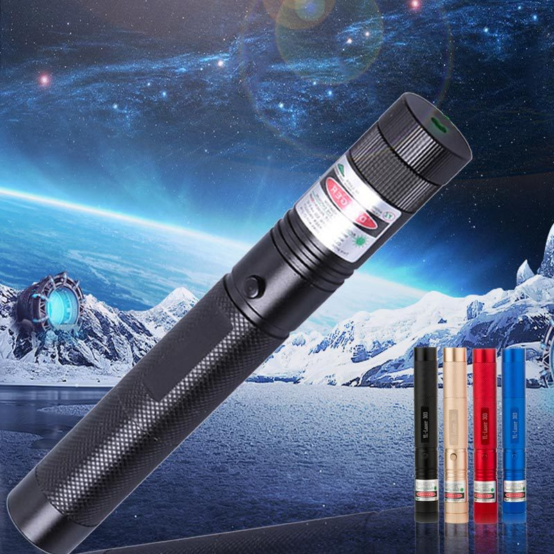 Green/Red/Blue Laser Pointer 5mW 532nm Powerful 500M Laser Pen Professional Lazer pointer For Teaching Outdoor Playing