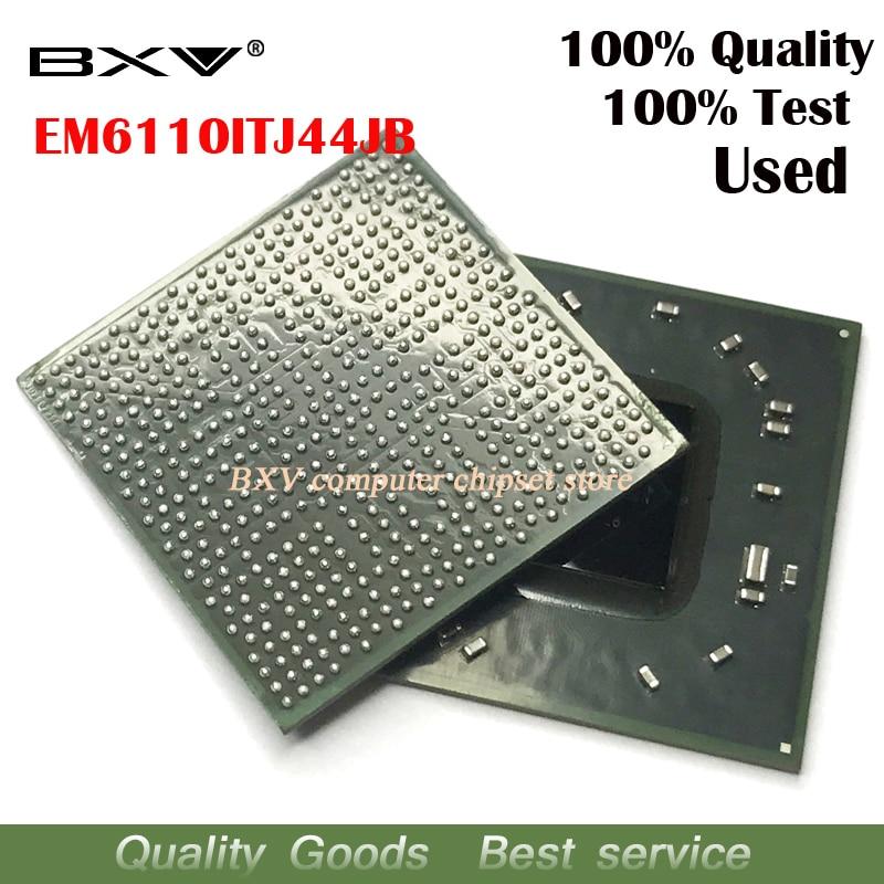 EM6110ITJ44JB  100% test work very well reball with balls BGA chipset quality assurance free shipping