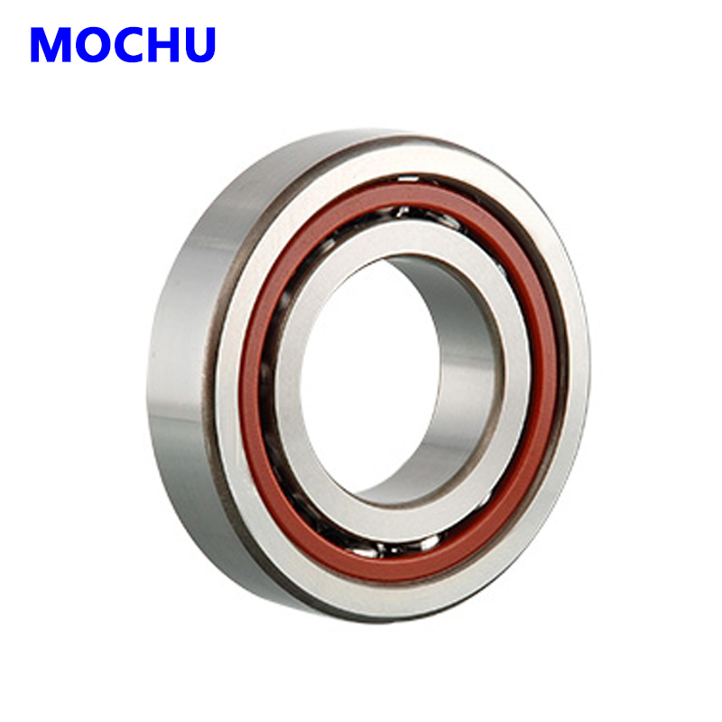 1pcs MOCHU 7207 7207C 7207C/P5 35x72x17 Angular Contact Bearings Spindle Bearings CNC ABEC-5 1pcs 71822 71822cd p4 7822 110x140x16 mochu thin walled miniature angular contact bearings speed spindle bearings cnc abec 7