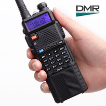 Baofeng DM-5R Dual Band DMR Digital Radio Walkie Talkie, VHF / UHF 136-174 / 400-480MHz 3800mAh Two-Way Radio Transceiver