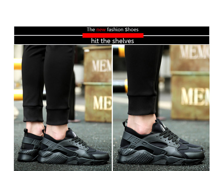 Pens, Pencils & Writing Supplies 2018man Sneakers For Men Rubber Black Running Shoes For Men Breathable Mesh Sport Shoes Male Female Sneakers Size 35-47