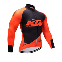 2018 KTM Bici A Maniche Lunghe da Uomo Outdoor Mountain Bike Ciclismo Abbigliamento Ciclismo Ciclismo Abbigliamento Sportivo A secco Respirabile