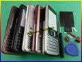 Новый Высокое Качество Для Nokia 6300 Новый Полный Крышку Корпуса Дело Двери Бесплатная доставка + Открыть Средство