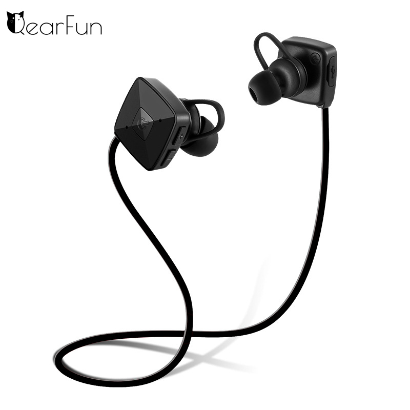 New M3 Sports Wireless Bluetooth Headphone Earbuds V4.1 Stereo Headset Bass Earphones with Mic In-Ear for iPhone 7/6 SmartPhone new guitar shape r9030 bluetooth stereo earphone in ear long standby headset headphone with microphone earbuds for smartphones