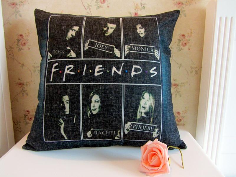 Friends TV play pillow Chandler Bing Rachel Green Joey-in