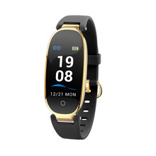 S3 Color screen Smart health bracelet Watch Women Dynamic heart rate Fitness Tracker Smartwatch for Iphone Xiaomi Huawei Samsung(China)