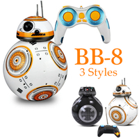 Star Sphero BB8 Wars Remote Control Robot Ball Toy BB 8 Droid RC BB 8 BB 9E Last Jedi Distance Control Children Educational Toys