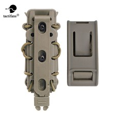 Tactical Alien Pop Lock Polymer 9mm 45ACP Molle Belt Magazine Pouch Cord Expandable Army Hunting Accessories Bungee Shock