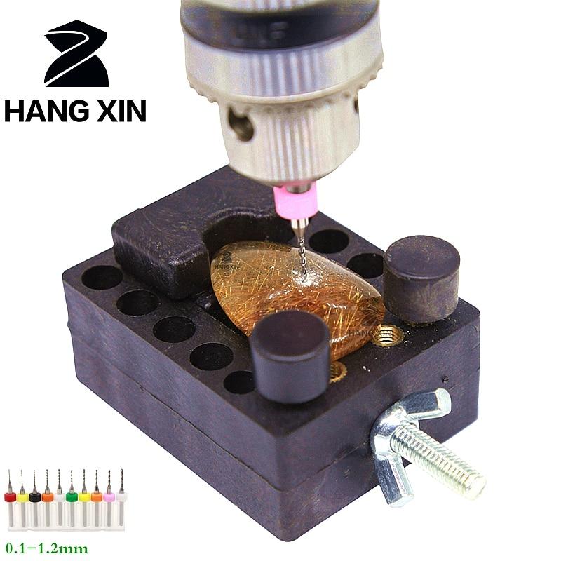 Gręžimo įrankiai 0.3mm – 1.2mm, 10PCSPCB gręžimo, karbido CNC - Grąžtas - Nuotrauka 2