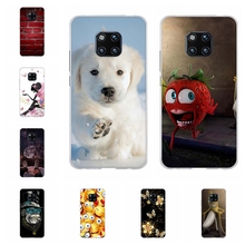 For Huawei Mate 20 Pro Cover Soft TPU LYA-L09 LYA-L29 Case Cartoon Patterned Capa