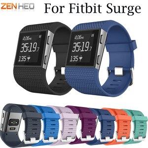 Image 1 - Умные аксессуары для Fitbit, сменный спортивный силиконовый браслет, ремешок для наручных часов Fitbit