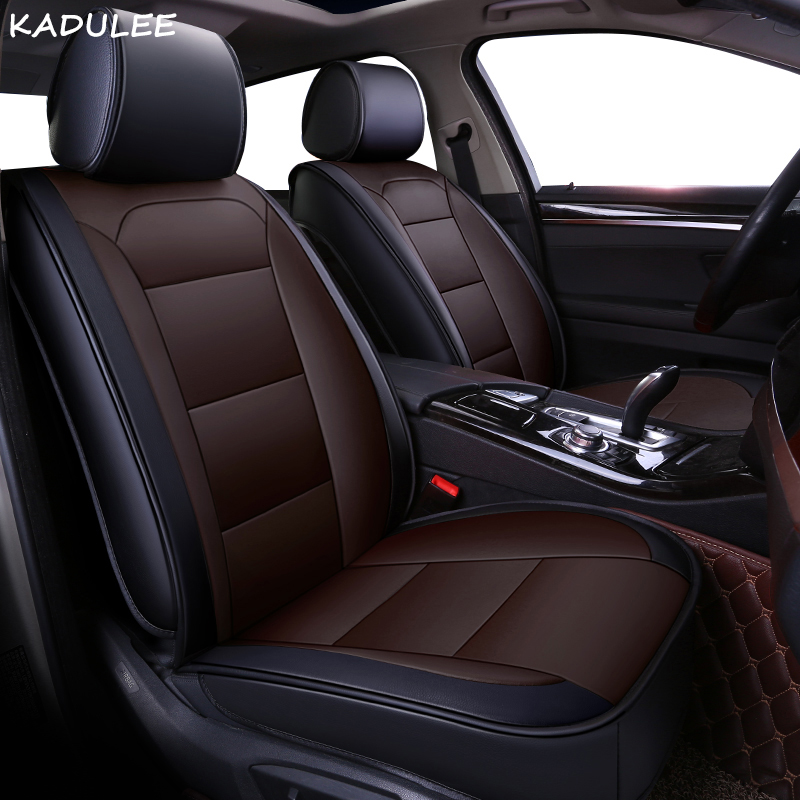KADULEE pu leather <font><b>car</b></font> <font><b>seat</b></font> <font><b>cover</b></font> For <font><b>mercedes</b></font> w204 <font><b>w211</b></font> w210 w124 w212 w202 w245 w163 auto accessories <font><b>covers</b></font> for vehicle <font><b>seats</b></font> image