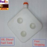 Free Shipping 10L Diesel FuelTtank For Air Parking Heater For Truck Camper Rv Van Bus Excavator Webasto Diesel Heater Ebespacher