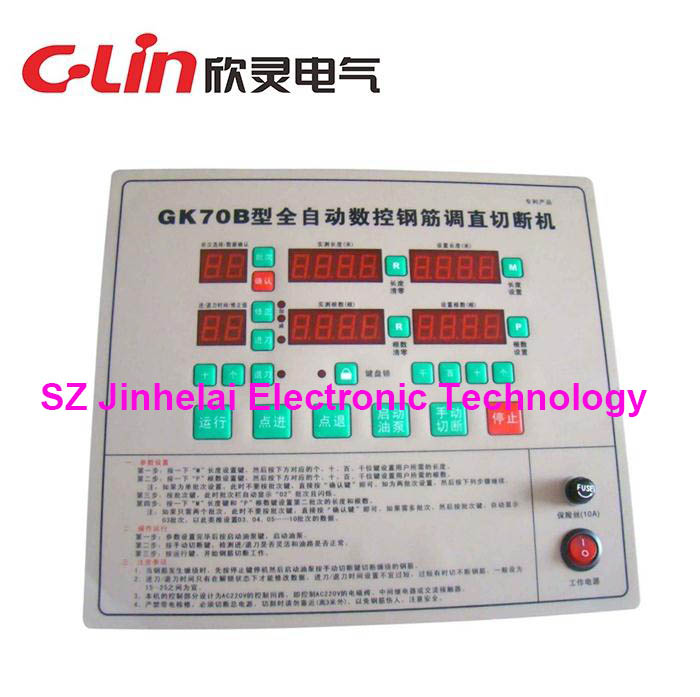 C-Lin GK70B  GK-70B New and original Fully automatic numerical control Reinforcing Steel Adjusting Cutter controllerC-Lin GK70B  GK-70B New and original Fully automatic numerical control Reinforcing Steel Adjusting Cutter controller