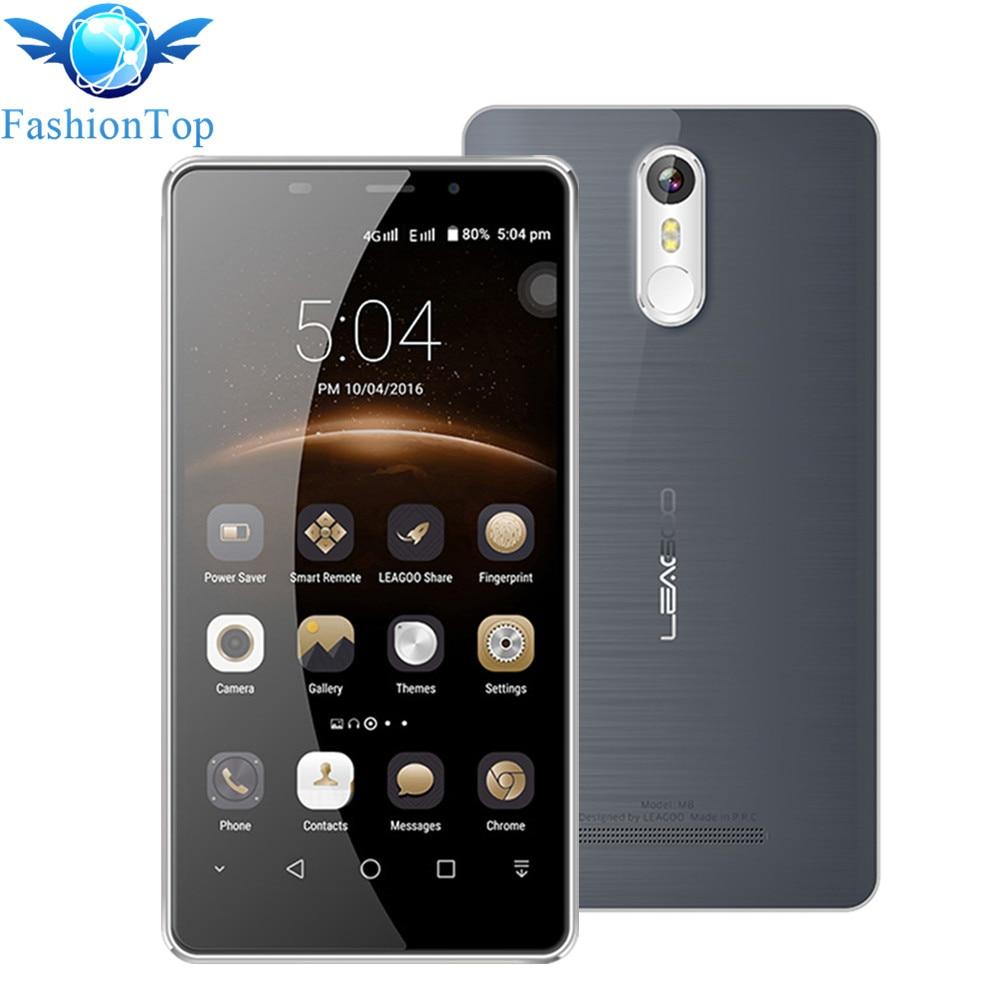Leagoo M8 Smartphone 5 7 HD IPS Android 6 0 MT6580A Quad Core 2GB RAM 16GB