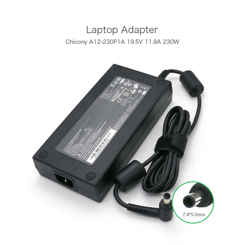 Genuine 19.5V 11.8A 230W 7.4*5.0mm Laptop Adapter for Acer G9-791-78E2 G9-791-79XV G9-791-74WH Predator 15(G9-593)Predator 17PC new predator cooling fanor for acer predator 15 17 17x g5 g9 592 g9 593 g9 g9 791 79xv g9 792 g9 793 cd rom cooling fan