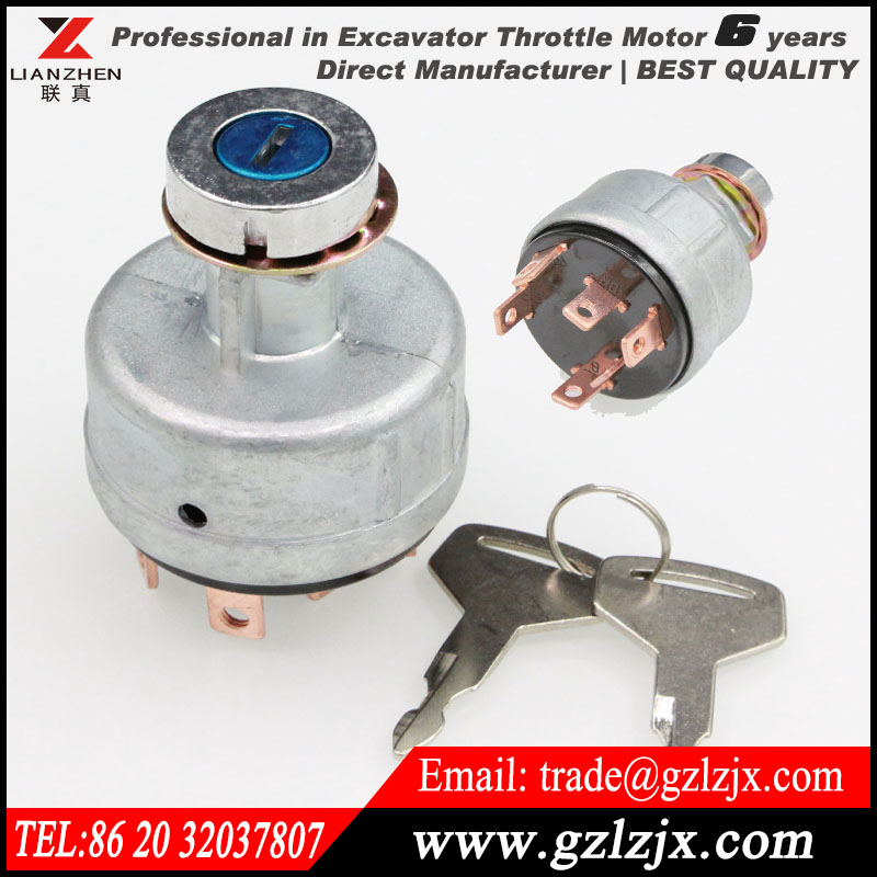 ФОТО Gas fire ignition switch for Kato excavator HD800 HD700-5 700-7