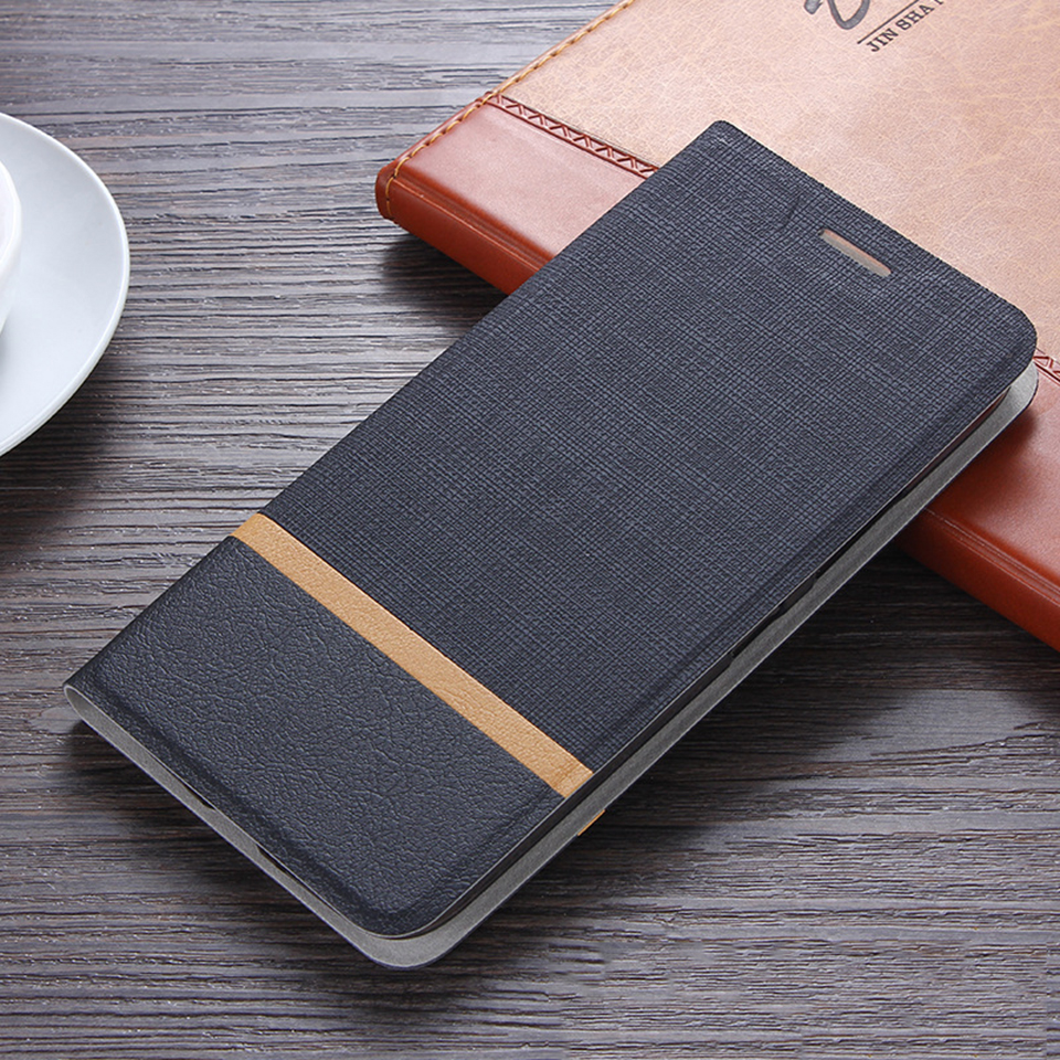 Fashion Leather Case For LG V35 ThinQ Wallet Flip Stand