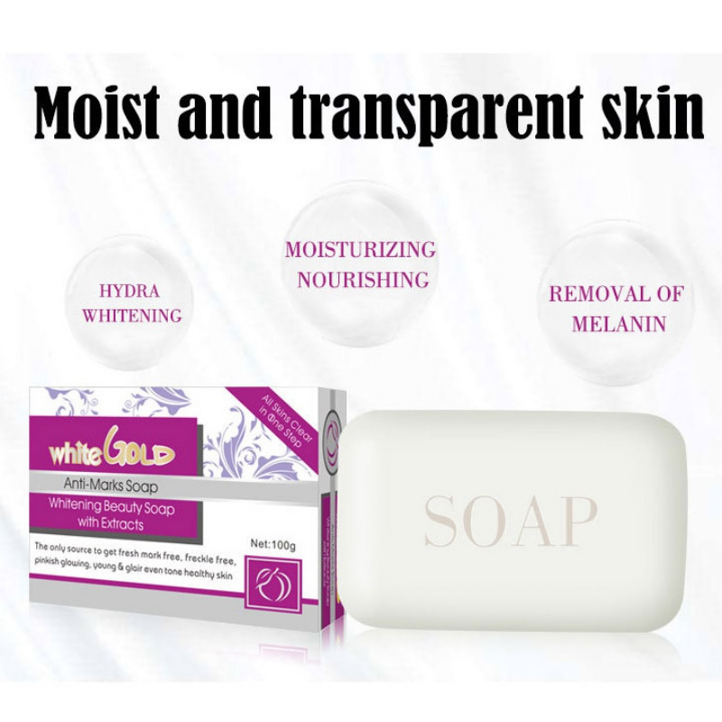 Handmade Whitening Soap Skin Lightening Soap Bleaching Kojic Acid Soap Deep Cleaning Brighten Glutathione Skin Care Tool