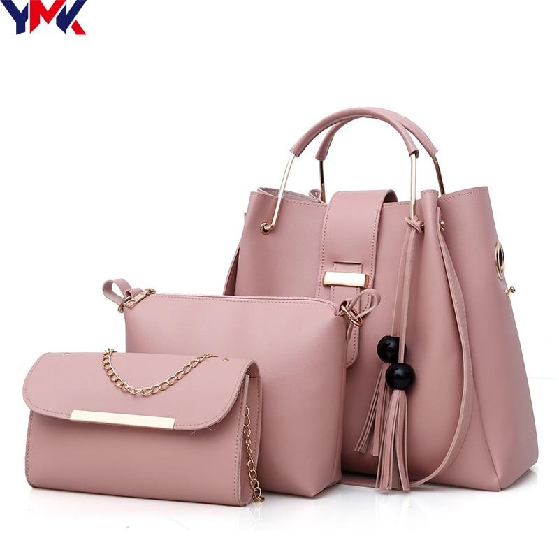 365455f17d 2018 Fashion Luxury Handbags Women Bags Designer Shoulder Bag Female  Leather Bags For Women 2018 Fashion Women Messenger Bags-in Shoulder Bags  from Luggage ...