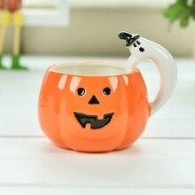 Eine Personalisierte Heißer Halloween Kürbis Becher Keramik Kaffee Milch Tee Individuell Geburtstag Weihnachtsgeschenke