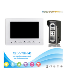 V70H-m2 Hot selling7 Inch security Intercom system Video Door Phone with electronic door lock INTERCOM system video doorbell