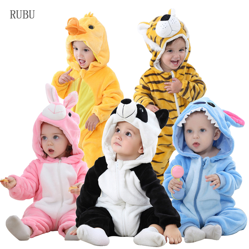 Baby   Rompers   Panda Newborn Clothes Baby Girls Boys   Romper   Infant Clothing Winter Jumpsuit Toddler Baby's Sets Stitch Pajamas