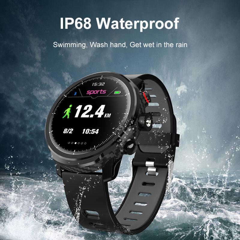 Bluetooth femmes hommes montres intelligentes étanche IP67 Sport Smartwatch tactile complet pour IOS Android moniteur de fréquence cardiaque pression artérielle