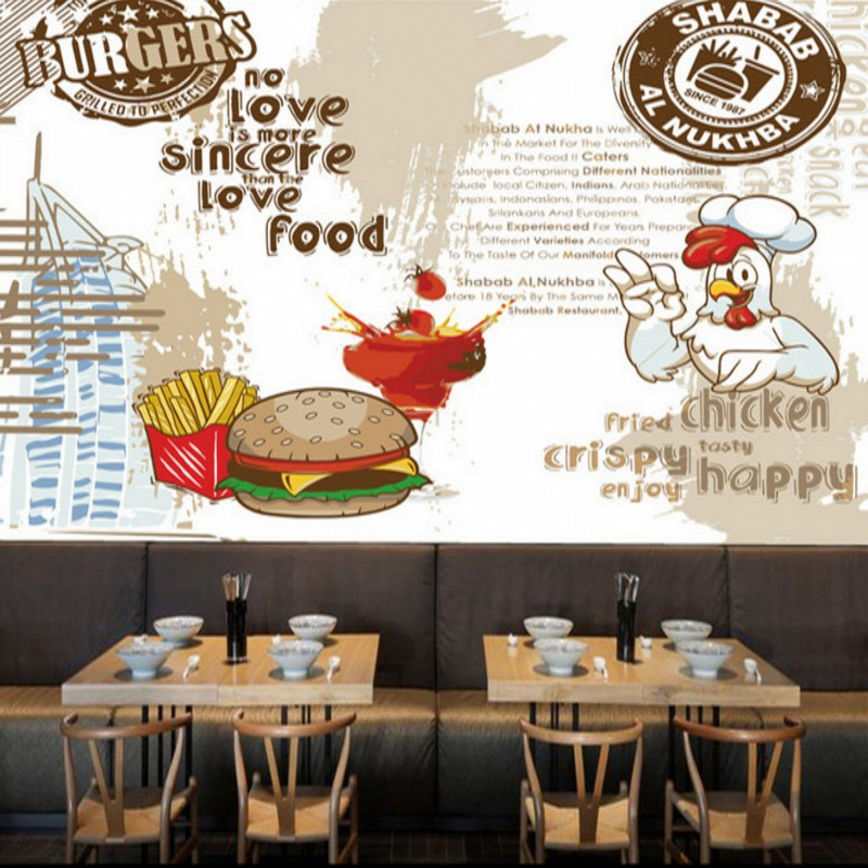 Restaurant Kitchen Wallpaper compare prices on wallpaper murals kitchen- online shopping/buy