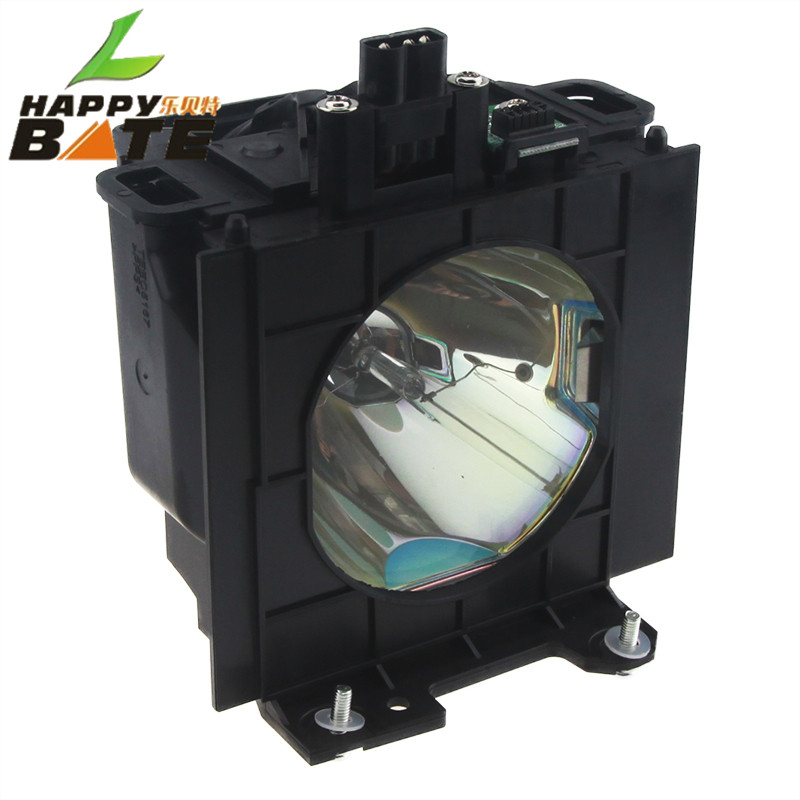 ET-LAD57 Compatible Lamp with Housing for PT-D5100 PT-D5700L PT-DW5100 PT-D5700E PT-DW5100 PT-DW5100L happybate et lab80 for pt lb75 pt lb80 pt lw80ntu pt lb75ea pt lb75nt pt lb75ntea pt lb80ea lb80nt compatible lamp with housing happybate