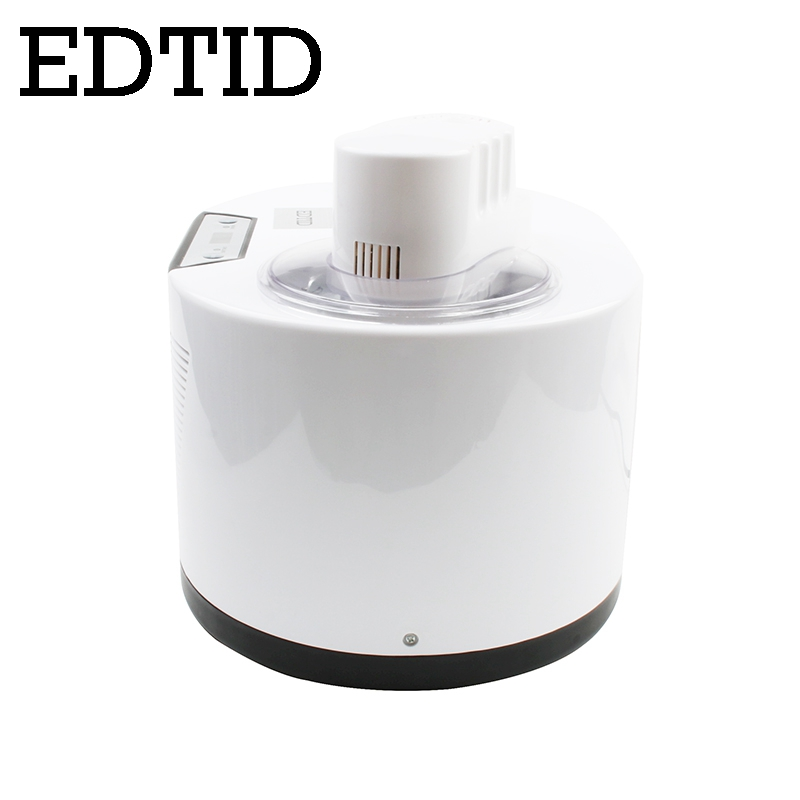 EDTID Self Cooling Ice Cream Maker used for Commercial and Home Kitchen to Prepare Delicious Ice Cream and Frozen Yogurt 2
