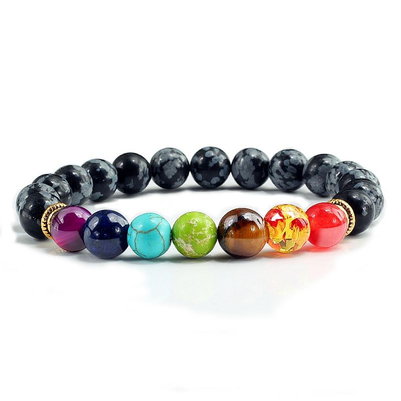 7 Chakra Natural Stone Bracelet 3