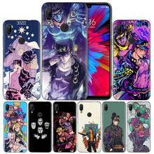JoJo Bizarre Adventure  Silicone Case Cover for Xiaomi Mi 9 8 Play A1 A2 Redmi Note 7 6 6A 5 Plus S2 GO Lite Pro Pocophone F1 стоимость