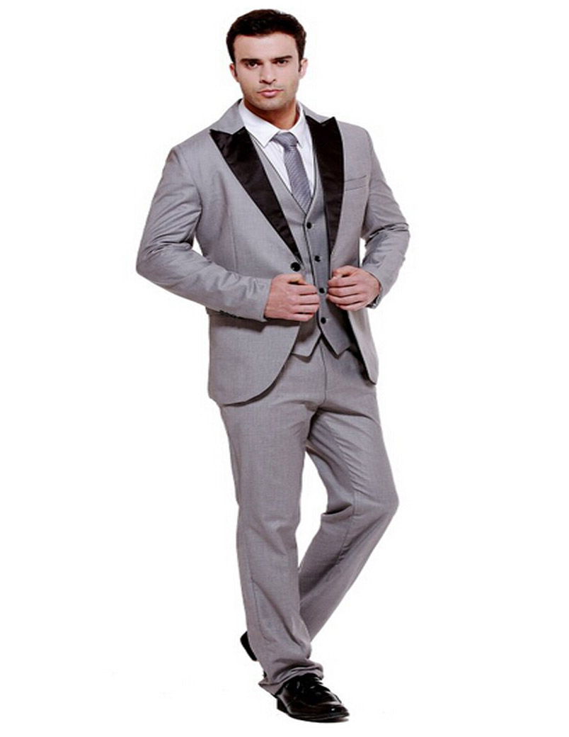 2019 New Arrival Vogue Silm Men's 3-Piece Dinner  Wedding Suit Blazer Jacket  Vest & Trousers