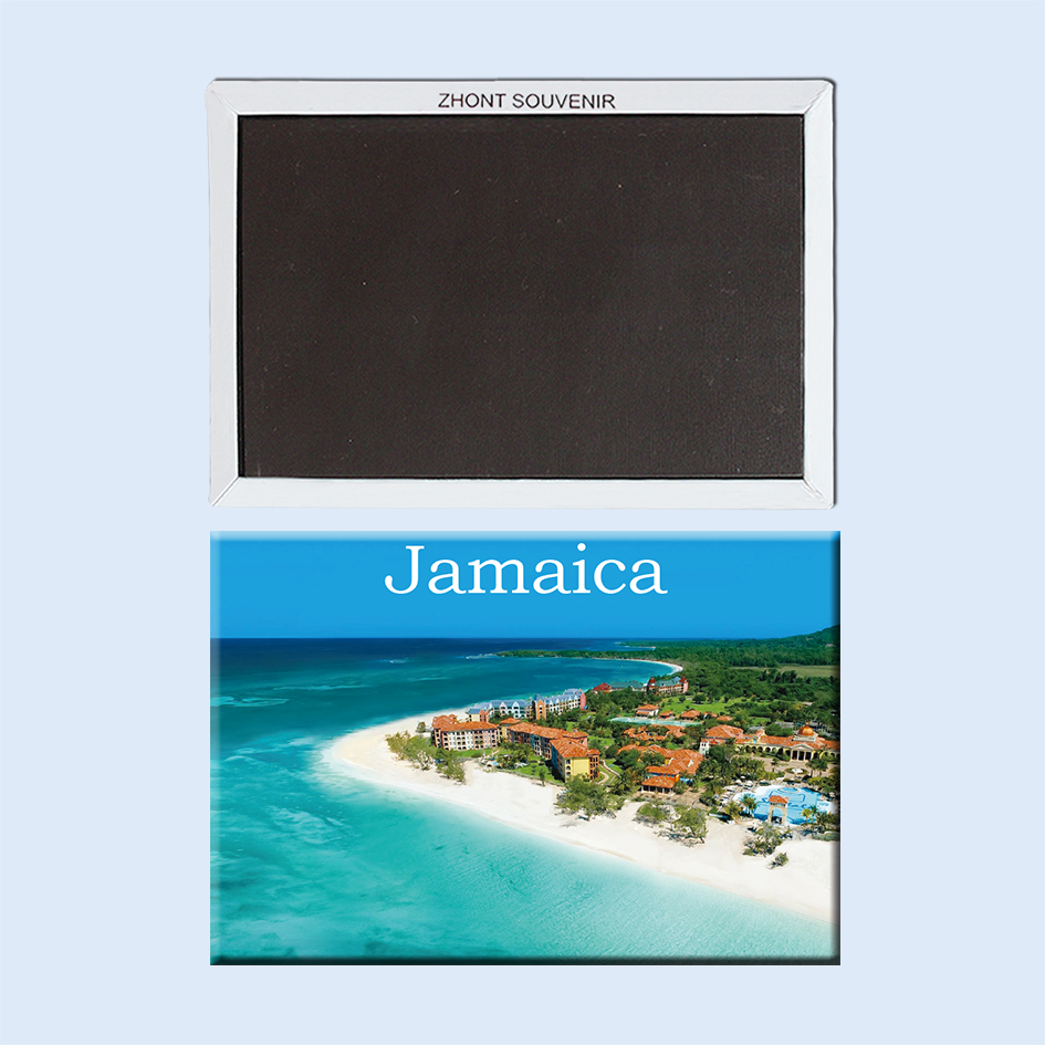 Jamaica Sandals <font><b>whitehouse</b></font> 22572 gifts for friends Landscape Magnetic refrigerator Travel souvenirs image