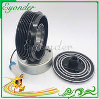 New Aircon AC A/C Air Conditioning Compressor Electromagnetic Magnetic Clutch Pulley for VAUXHALL OPEL Vectra C