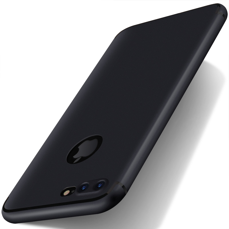 buy popular 11137 a3168 US $1.39 20% OFF|for iphone 7 plus iphone X Case Silicon Thin Soft Matte  Back Cover Black Coque Case for iphone 7 plus for iphone 6s 6 Plus Cases-in  ...