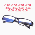 2017 Hot Anti-radiation Optical Myopia Eyeglasses Men Women Blue coating Lens Eyewear Frames Reading Glasses -100 -150 -550 -600