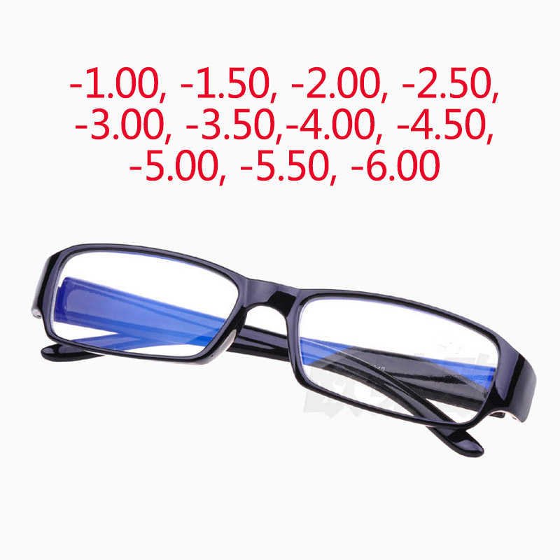 2017 hot anti radiation optical myopia eyeglasses men women blue coating lens eyewear frames