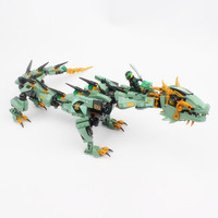 Lepin 06051 592pcs Movie Series Flying Mecha Dragon Building Blocks Bricks Toys Children 70612 Gifts Compatible