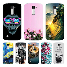 Soft TPU Phone Case for LG K10 K 10 LTE K420N K430 K430DS 5.3 Back Cover Triangle Printing for LG K10 Coque for LG K 10 стоимость