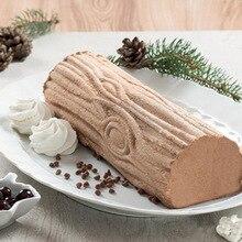 2PCS Silicone Non-Stick Grain Mat Baking Cake Mold Chocolate Ice creams Twinkie Mousse Dessert Accessories