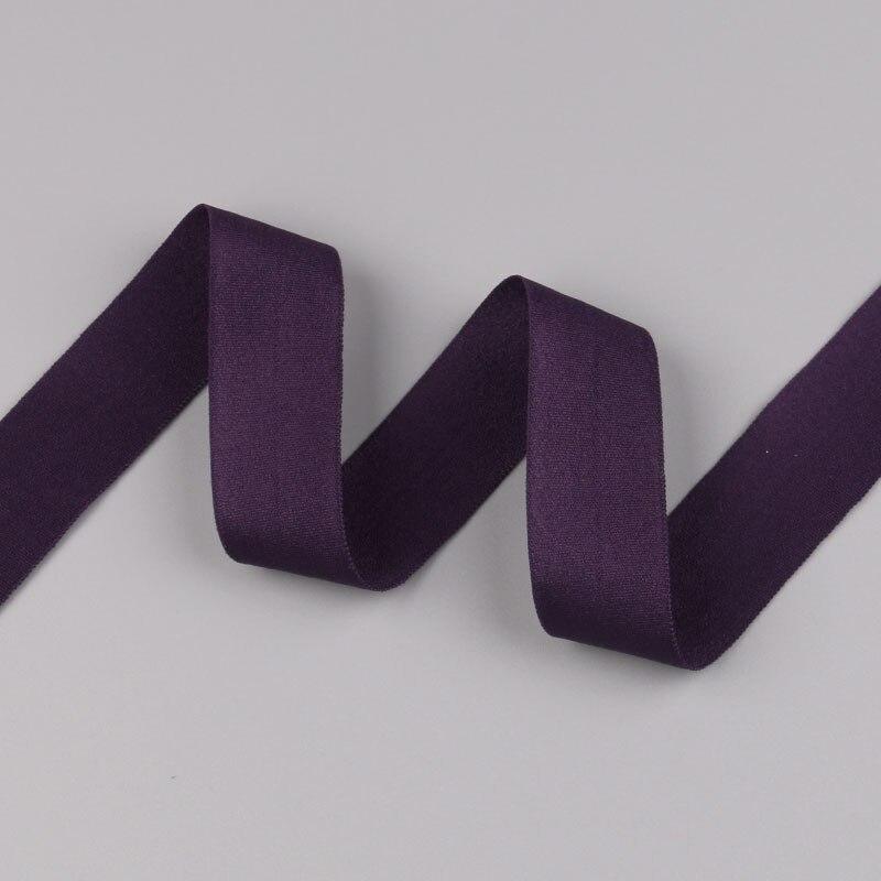 5 ярдов/Лот 20 мм ширина 34 цвета эластичная лента использование для diy аксессуары и одежда галстук лента для волос - Цвет: 25