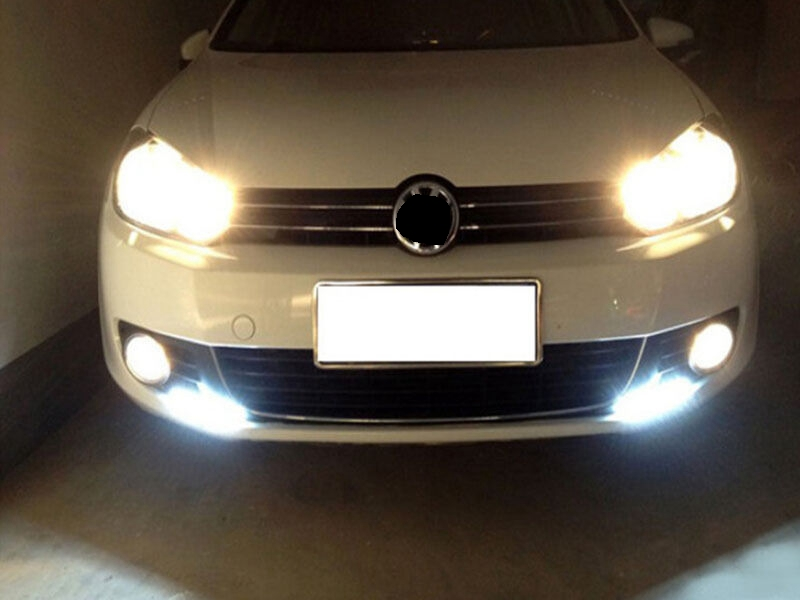 Honest Car Styling 1 Pcs Ultra Bright Led Daytime Running Lights 17cm Waterproof Auto Car Drl Cob Driving Fog Lamp For Bmw Kia Clearance Price Automobiles & Motorcycles Car Light Assembly