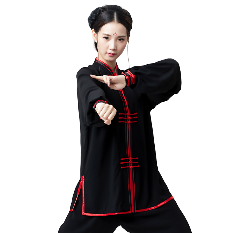 Mountain Motion Spring And Autumn Chi Serve Woman Quinquagenarian Practice Cotton A Martial Art Performance Serve Taiji BoxingMountain Motion Spring And Autumn Chi Serve Woman Quinquagenarian Practice Cotton A Martial Art Performance Serve Taiji Boxing