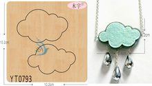 Cloud-YT0793 DIY new wooden mould cutting dies for scrapbooking Thickness-15.8mm/muyu/(China)